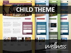 WordPress template Wellness Child