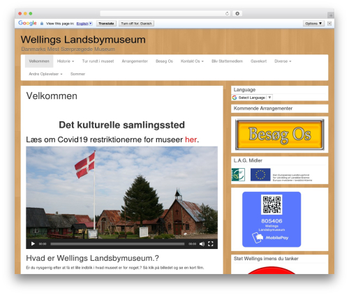 WordPress theme LineDay - wellings.dk