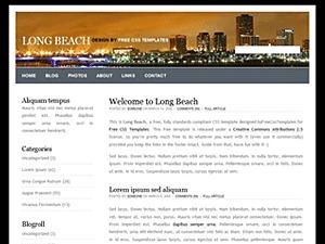 WordPress theme Long Beach