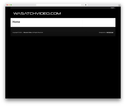 WordPress theme Magazinum - wasatchvideo.com