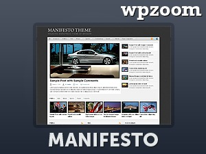 WordPress theme Manifesto