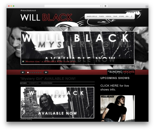 WordPress theme MODUS - willblack.com