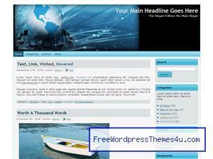 world computer network tee062 WordPress website template