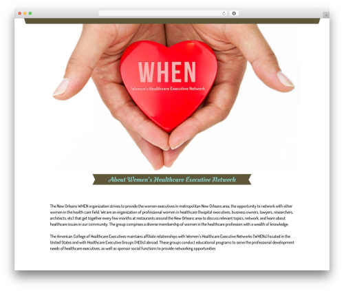 WP template Starkers - whennola.org