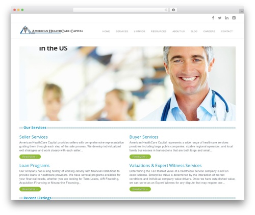 Free WordPress Ultimate WP Query Search Filter plugin - americanhealthcarecapital.com