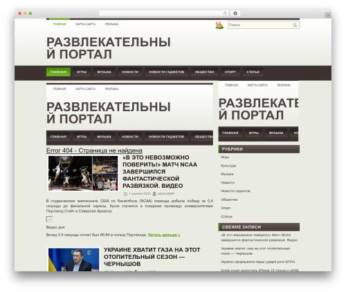 Best WordPress theme carolina - allday.org.ua