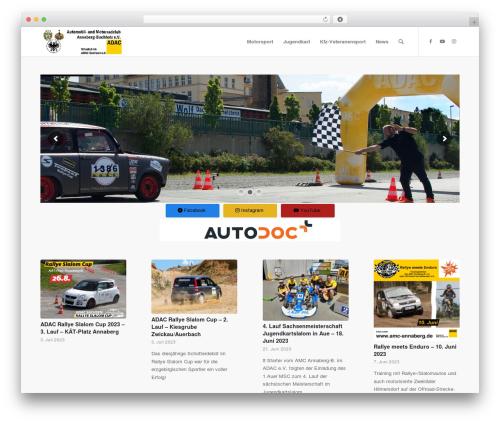 Enfold template WordPress - amc-annaberg.de