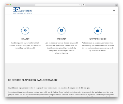 Jupiter WP theme - fallenstein-executivesearch.com