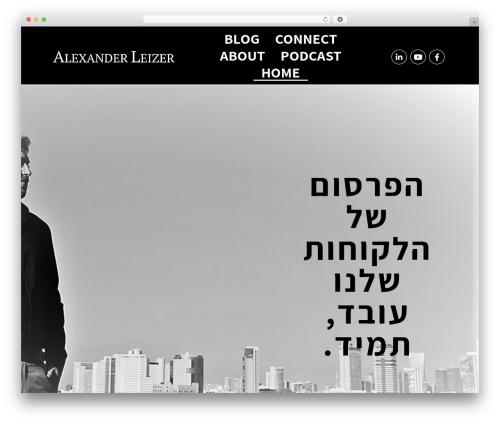 Free WordPress Contact Widgets plugin - alexanderleizer.com