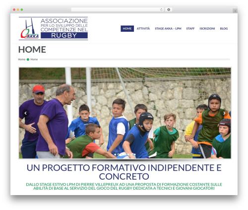 PressCore WP template - akka-rugby.com