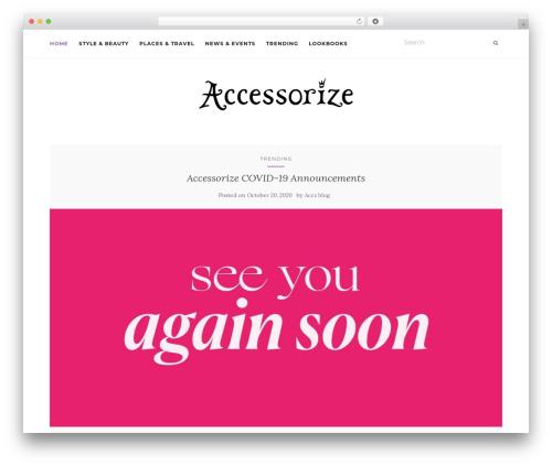 Activello WP template - accessorizeblog.com