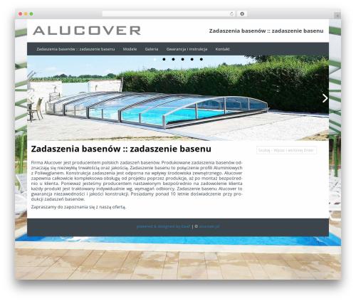 Almasi business WordPress theme - alucover.pl