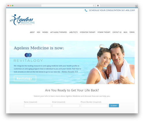 Free WordPress Local Search SEO Contact Page plugin - agelessmedicineofthepalmbeaches.com