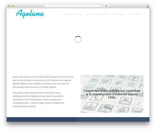 Avada theme WordPress - agelana.fr