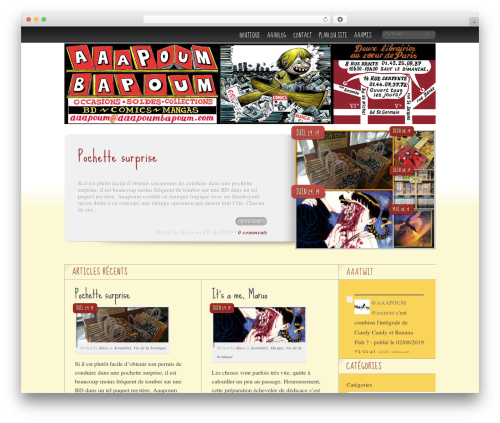 Delicate News WordPress magazine theme - aaapoum.be