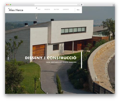 Domik theme WordPress - alexherce.com