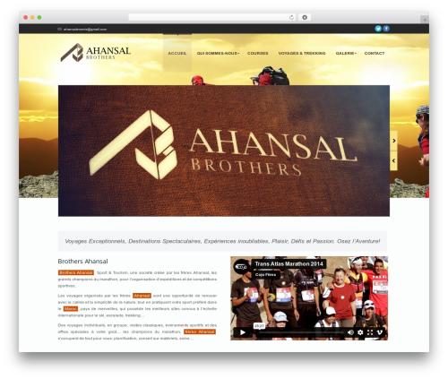 Nimble WordPress template - ahansal.com