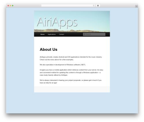 Twenty Eleven best free WordPress theme - airiapps.com