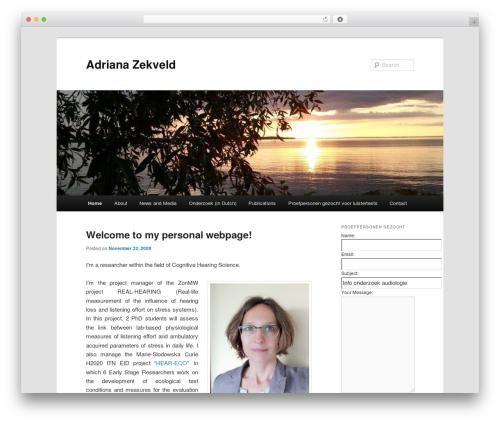 WordPress event-calendar plugin - adrianazekveld.org