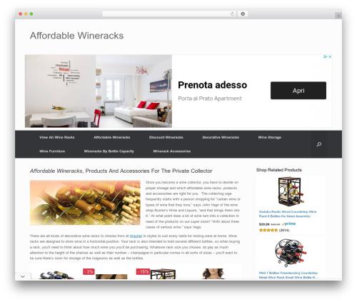 Free WordPress Content Egg plugin - affordablewineracks.com
