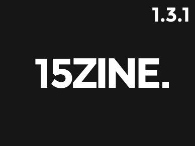 15zine (shared on themelord.com) WordPress theme