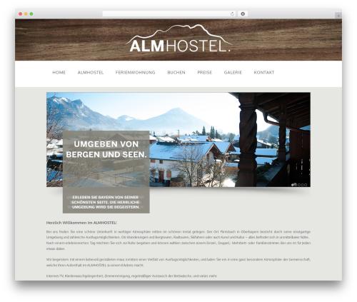 Free WordPress FancyBox plugin - almhostel.de