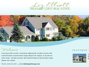 Best WordPress template AB Realty & Mortgage - Normandy Blue - Child Theme