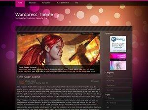 Best WordPress template Bubbles