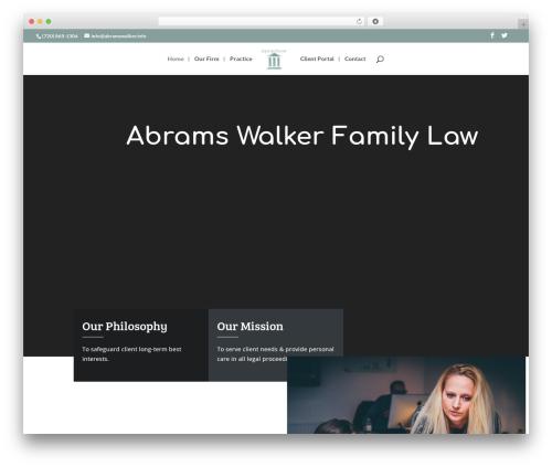 WordPress divi-booster plugin - abramswalker.info