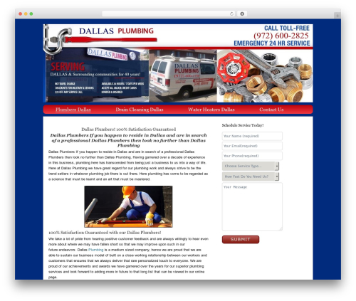 Catalyst template WordPress - aatonplumbingdallas.com