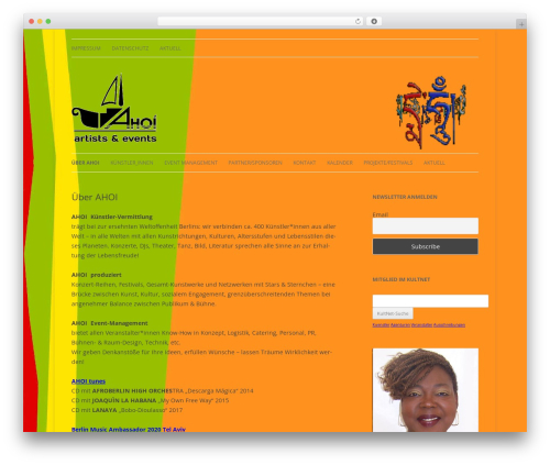 childtwentytwelve WordPress theme - ahoi-kultur.de