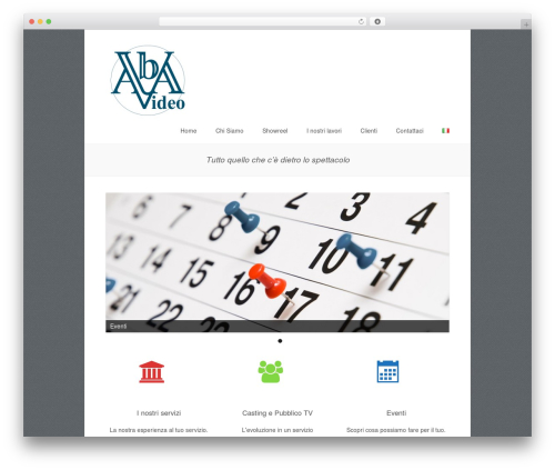 Clearly free WP theme - abavideosrl.it/portal/it/home