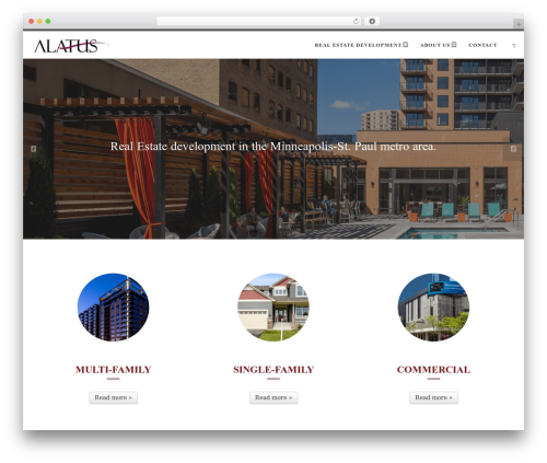 Customizr Pro best WordPress template - alatusllc.com