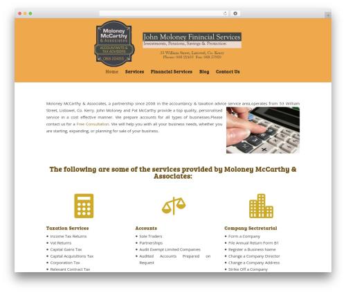Divi WordPress theme design - accountantkerry.com