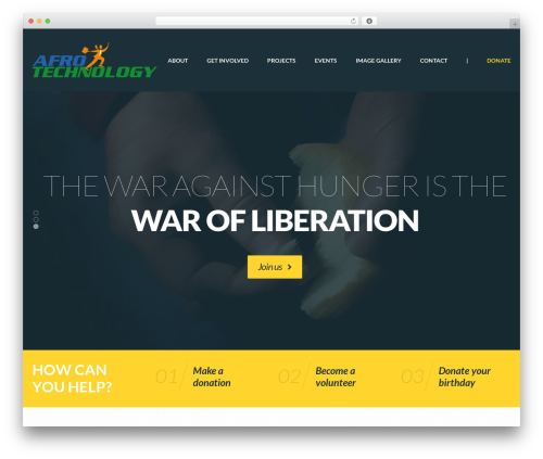 Philanthropy Child best WordPress theme - afrotechnology.org