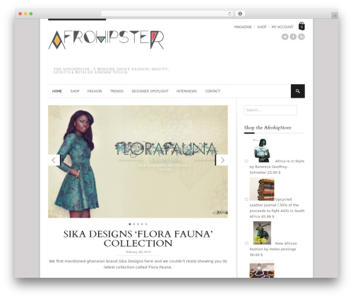 StyleMag fashion WordPress theme - afrohipster.com