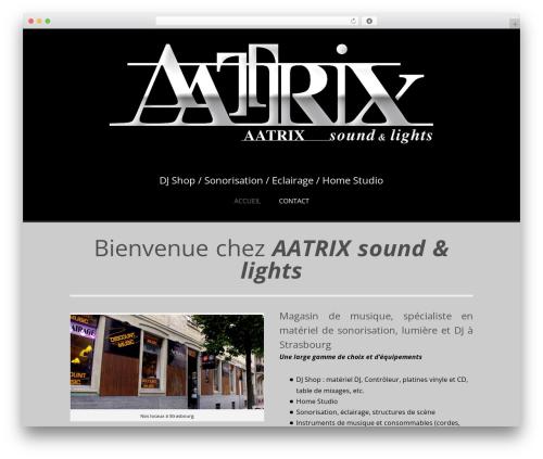 Sublime Press WordPress page template - aatrix.fr
