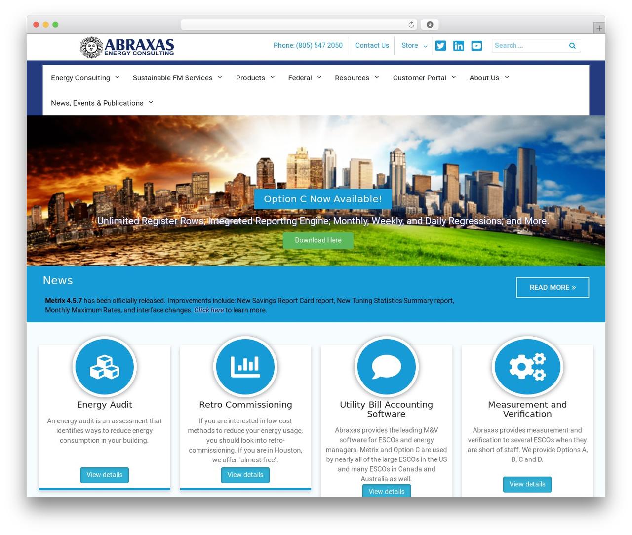 Template WordPress University Hub - abraxasenergy.com
