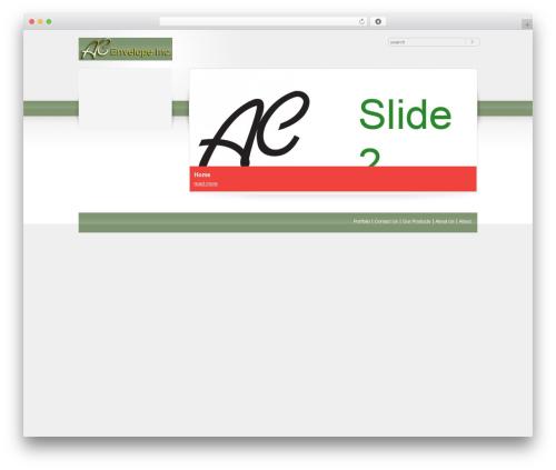 Theme WordPress RT-Theme 10 - acenvelopeinc.com