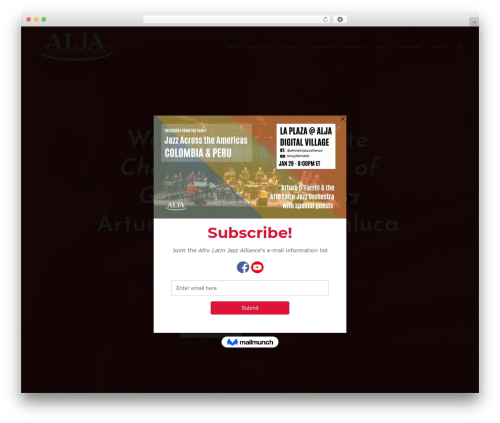 Free WordPress Meks Smart Social Widget plugin - afrolatinjazz.org