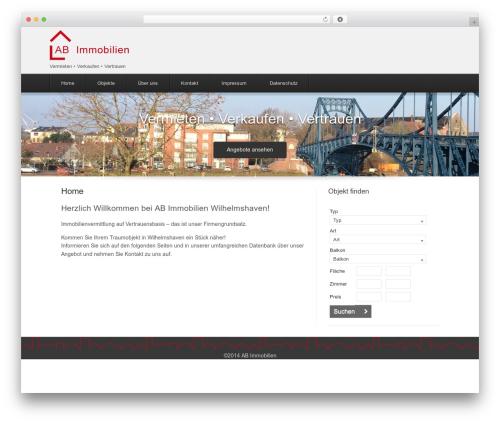 WordPress theme Estate Premium - ab-immobilien24.de