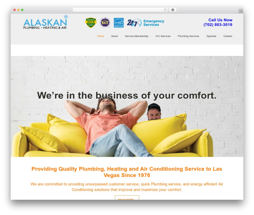 WordPress theme U-Design - alaskanquality.com