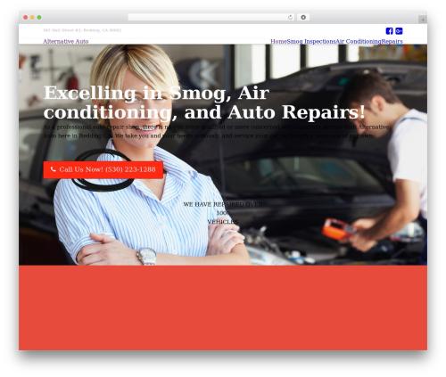 X WordPress page template - alternative-auto.com