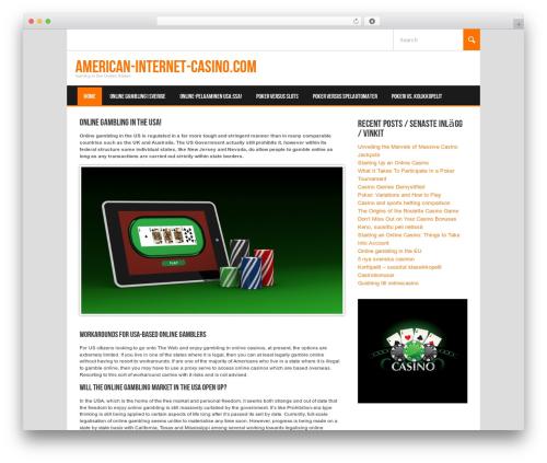 Koenda premium WordPress theme - american-internet-casino.com