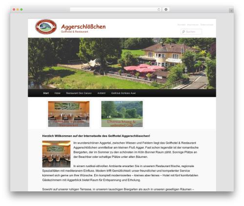 Twenty Eleven template WordPress free - aggerschloesschen.de