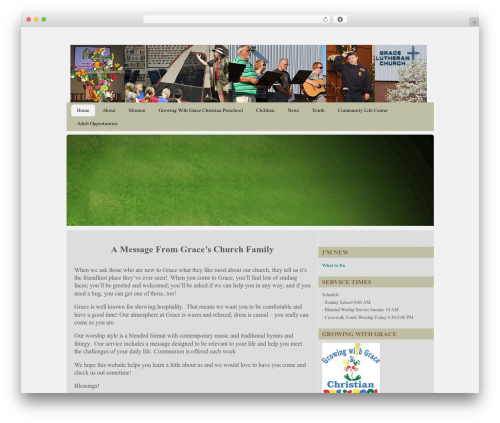 Best WordPress theme CC Child Theme - agraceplace.org