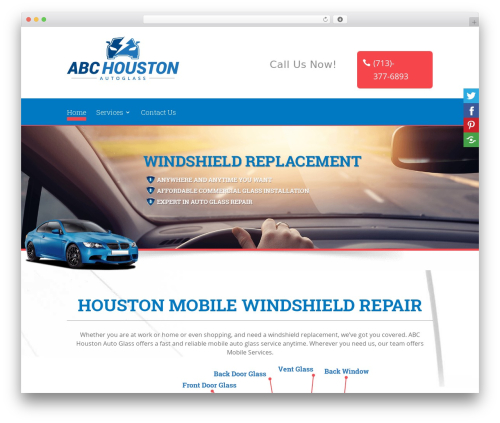 Divi WordPress template for business - abchoustonautoglass.com