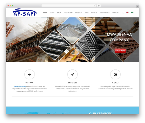 Enfold WordPress template for business - afsafi.com