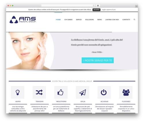 iMedica best WordPress theme - amsmedical.it