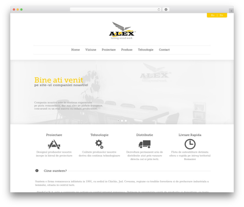 Quare best WordPress theme - alexco.ro